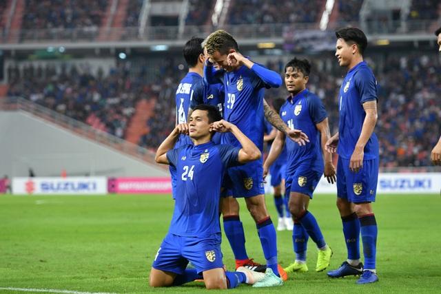 Thái Lan ghi đến 11 bàn, dù mới đá 2 trận