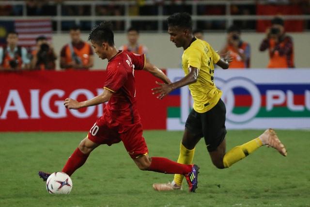 Đội tuyển Việt Nam chuẩn bị tái ngộ Malaysia trong trận chung kết AFF Cup 2018 (ảnh: Gia Hưng)