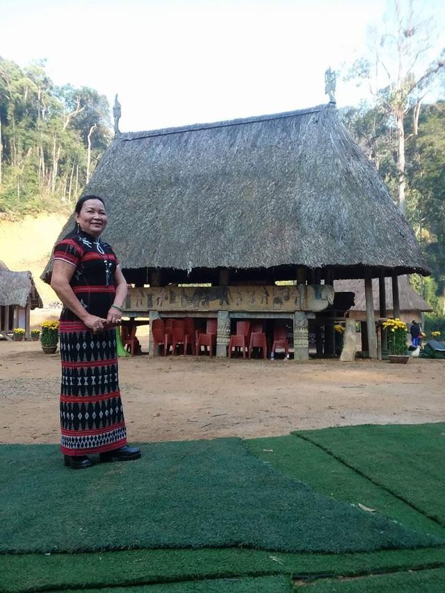 Cô Liễu chia sẻ, cô rất vui và hạnh phúc trong quãng đường 15 năm dạy học ở vùng cao Tây Giang