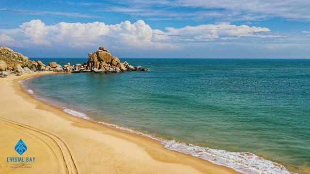 Biển và cát ở Mũi Dinh