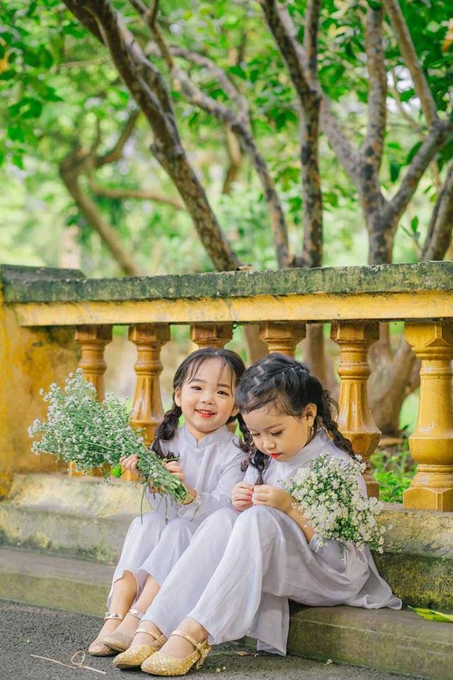 Cặp chị em mẫu giáo xinh như thiên thần - 8