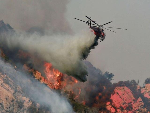 Vụ cháy rừng Camp Fire có thể coi là vụ cháy rừng thảm khốc nhất trong lịch sử California. (Ảnh: AFP)