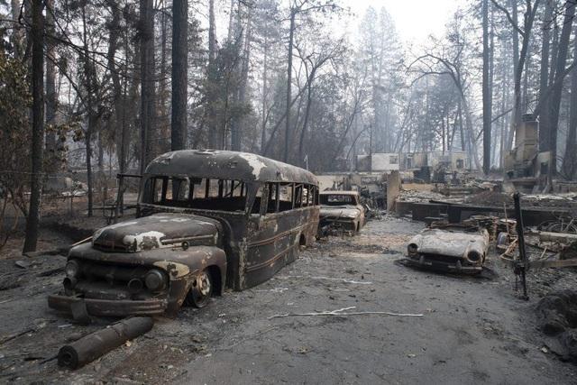 Khu vực bị tàn phá nghiêm trọng nhất là thị trấn Paradise. Nơi đây bị xóa sổ gần như hoàn toàn và có thể phải mất vài năm để tái thiết. (Ảnh: Reuters)
