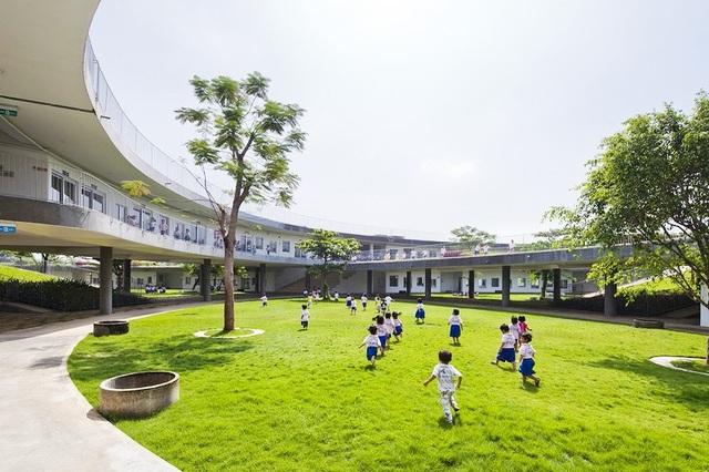 Trường mầm non ở TP Biên Hòa của nhóm KTS Võ Trọng Nghĩa lọt vào top 30 công trình đẹp nhất thế giới (ảnh: Ban tổ chức cung cấp)