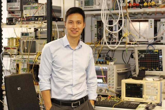 Kỹ sư điện tử Lê Thái Sơn.
