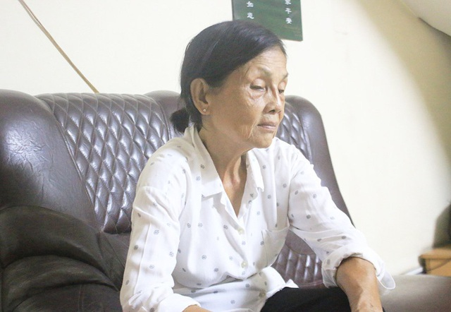 Bà Đẹp luôn đau đáu tìm lại đứa con của mình suốt 43 năm qua. Ảnh: Hoàng Tuân