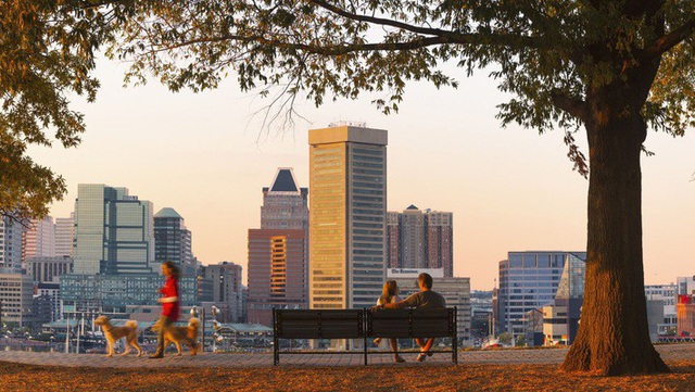 Thành phố Baltimore, bang Maryland, Mỹ - Ảnh: Getty Images.