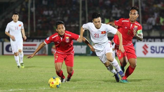 Đội tuyển Việt Nam luôn chiếm ưu thế lớn trước Myanmar ở các kỳ AFF Cup