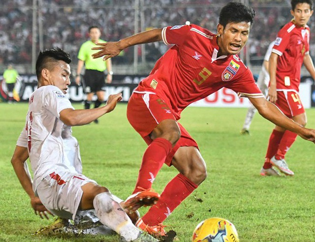 Trong quá khứ, Aung Thu từng ghi không ít bàn vào lưới các đội tuyển của Việt Nam