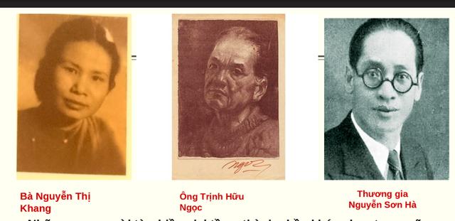 Hình ảnh vợ chồng họa sĩ Trịnh Hữu Ngọc - Nguyễn Thị Khang và thương gia Nguyễn Sơn Hà - những người thành lập trường mẫu giáo thực nghiệm đầu tiên ở Hà Nội từ năm 1942-1943