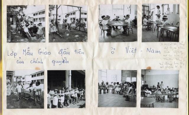 Hình ảnh lớp mẫu giáo tư thục đầu tiên ở Việt Nam - 1