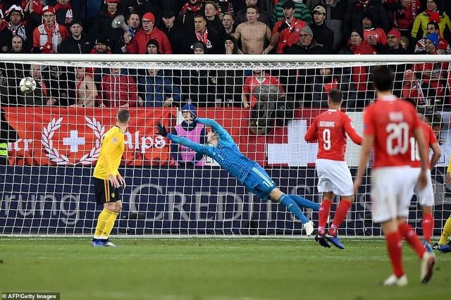 Thụy Sỹ đã chơi tưng bừng để giành chiến thắng 5-2