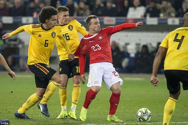 Shaqiri chơi rất hay bên phía Thụy Sỹ