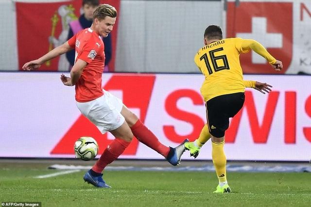 Sự chói sáng của Hazard em đã không giúp Bỉ giành chiến thắng