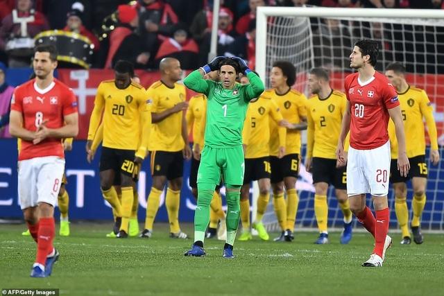 Bỉ đã không thể tận dụng dẫn trước 2 bàn thắng sớm