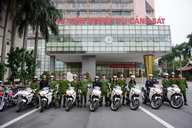 Câu lạc bộ môtô phân khối lớn (PKL) của Học viện Cảnh sát nhân dân được thành lập ngày 25/10/2013, đến nay đã được 5 năm.