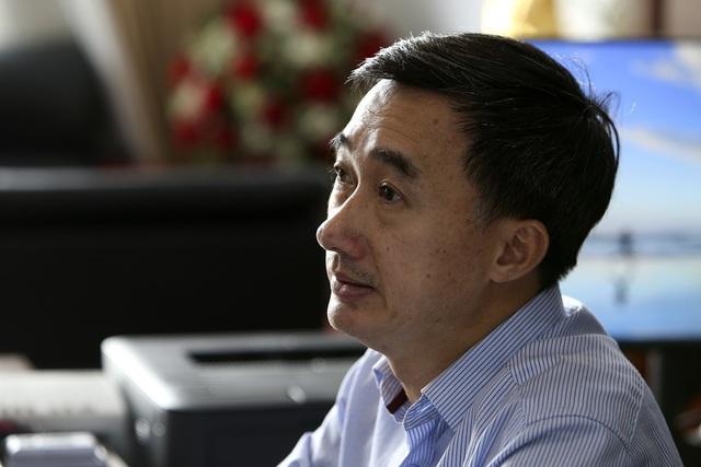 GS.TS Trần Văn Thuấn, Giám đốc BV K Trung ương. Ảnh: Hữu Nghị.