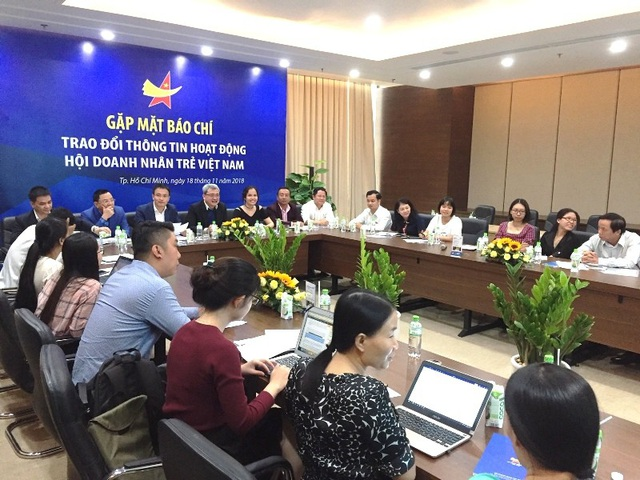 Hội doanh nhân trẻ Việt Nam đã có buổi Trao đổi thông tin hoạt động với báo chí tại TPHCM