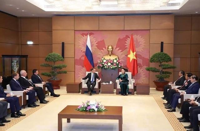 Việt Nam luôn coi trọng quan hệ với Liên bang Nga, coi đây là ưu tiên hàng đầu trong chính sách đối ngoại (ảnh: Hữu Nghị)