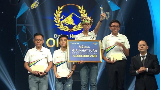 Phạm Hải Bình giành chiến thắng cuộc thi Đường lên đỉnh Olympia Tuần 2, Tháng 3, Quý 1