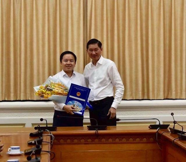 Ông Từ Lương được bổ nhiệm giữ chức Phó Giám đốc Sở TT&TT TPHCM
