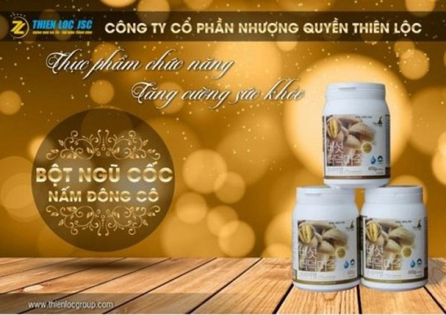 Một sản phẩm của công ty đa cấp Thiên Lộc