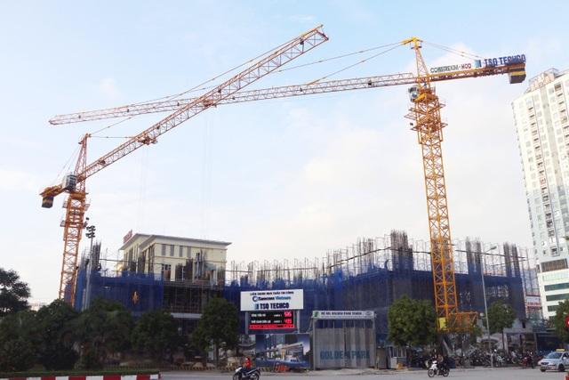 Golden Park Tower – ghi điểm nhờ tiến độ xây dựng - 1