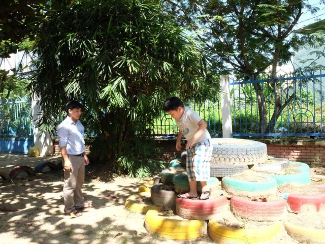 Nhiều mô hình trò chơi được thầy Việt thiết kế riêng cho học trò của mình