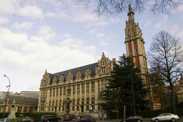 Trường Đại học Tự do Brussels (Ảnh: ulc.ac.be).
