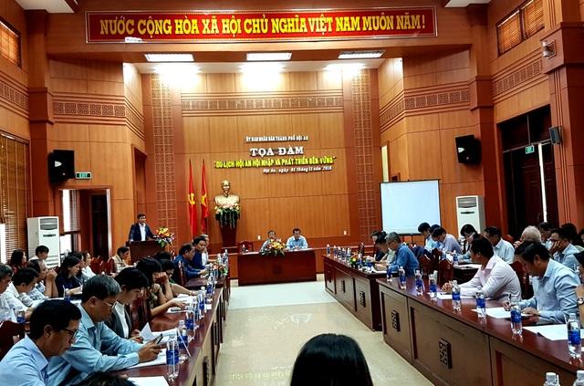 TP Hội An tổ chức buổi tọa đàm nhằm tạo môi trường tốt hơn cho ngành du lịch địa phương