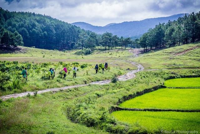 Khung cảnh đẹp nên thơ của Tà Năng - Phan Dũng mùa cỏ xanh