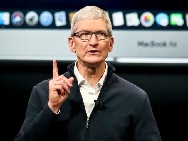 CEO Tim Cook của Apple.