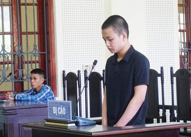 Bị cáo Nguyễn Hải Mạnh Cường tại phiên tòa