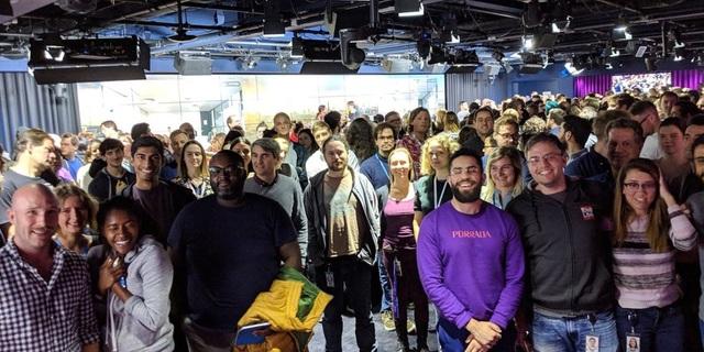 Nhân viên Google tại London.