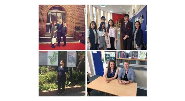 Quản lý và tư vấn viên TEC đến thăm các trường trung học và học sinh tại Anh Quốc hàng năm