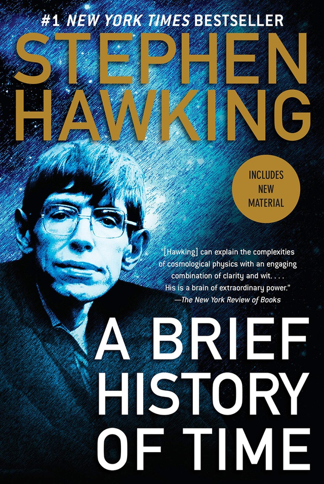 Tác phẩm nổi tiếng Lược sử thời gian của Stephen Hawking.
