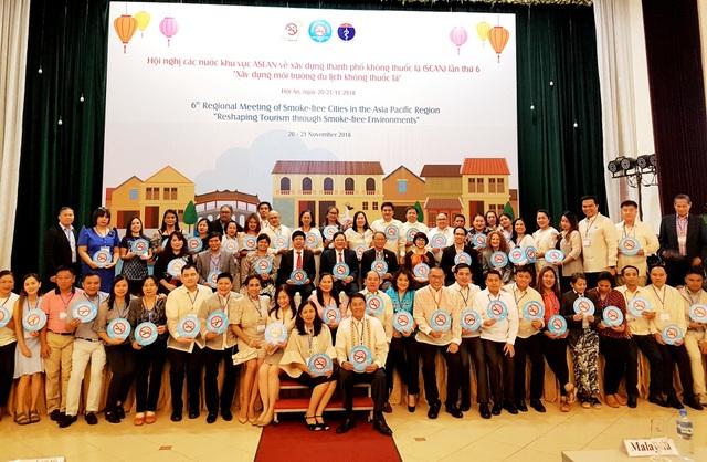 150 đại biểu về Hội An tham dự hội nghị về phòng chống thuốc lá ngày 20/11