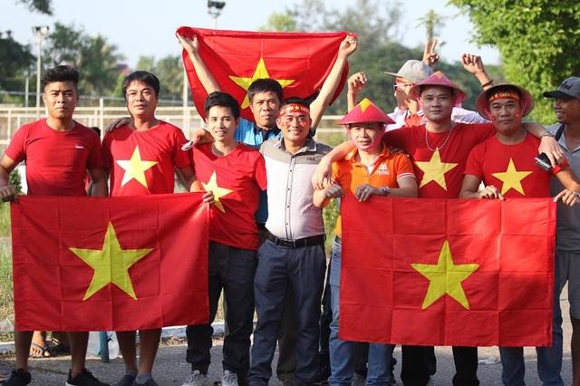 Người hâm mộ Việt Nam tin tưởng vào chiến thắng của đoàn quân HLV Park Hang Seo
