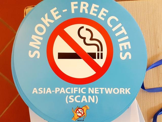 Logo hội nghị về phòng chống thuốc lá