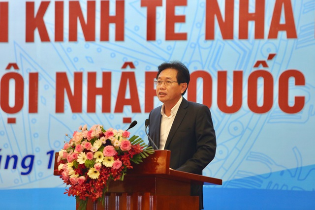 Tổng giám đốc PVN Nguyễn Vũ Trường Sơn phát biểu khai mạc Hội thảo
