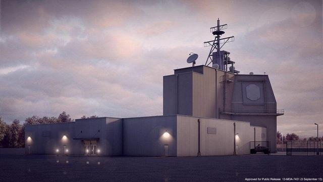 Trung tâm chỉ huy Aegis đặt trên bờ (Ảnh: Bộ Quốc phòng Mỹ)