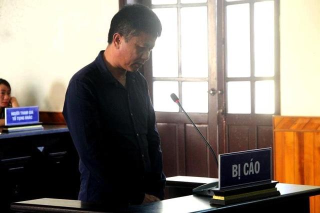 Bị cáo Trần Phúc Đức tại phiên xét xử