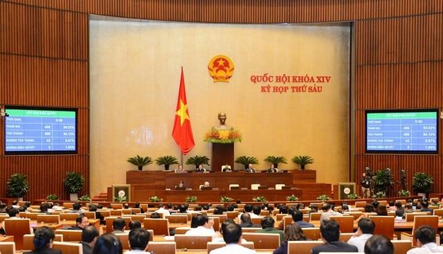 Quốc hội hoàn thành thành chương trình kỳ họp thứ 6, quyết định nhiều vấn đề quan trọng của đất nước
