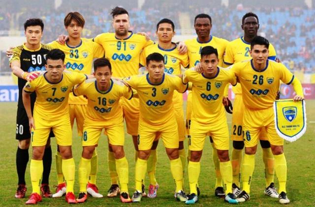 Đội bóng đá FLC Thanh Hóa.