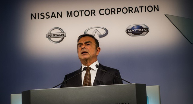 CEO Carlos Ghosn của liên minh Renault-Nissan-Mitsubishi