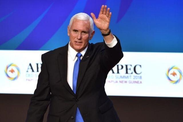 Phó Tổng thống Mỹ Mike Pence (Ảnh: Straits Times)