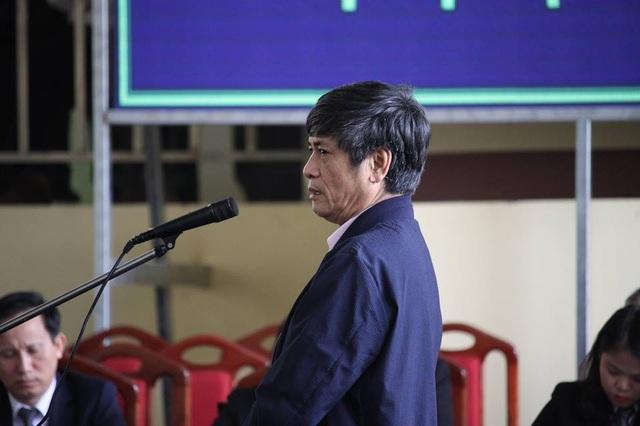 Bị cáo Nguyễn Thanh Hóa tại tòa chiều 20/11.