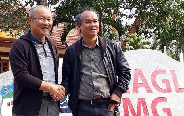 Bầu Đức là một trong những doanh nhân đóng góp lớn cho bóng đá Việt Nam.