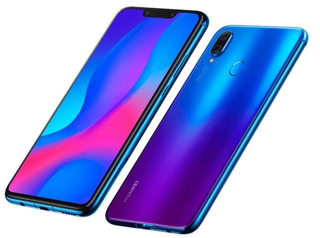 """Huawei Nova 3i được trang bị màn hình """"tai thỏ"""" thời trang, camera kép và mặt lưng đổi màu độc đáo"""