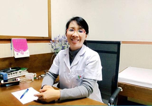 BSCKII Nguyễn Thị Lan – Trưởng khoa cơ xương khớp, Bệnh viện Hữu Nghị